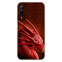 Coque pour Huawei Honor 9X Dragon Rouge