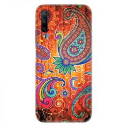 Coque pour Huawei Honor 9X fleur psychedelic