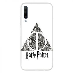 Coque pour Huawei Honor 9X WB License harry potter pattern triangle Blanc