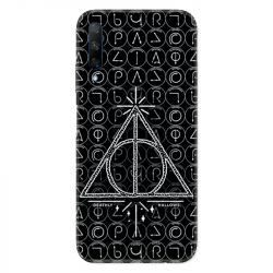 Coque pour Huawei Honor 9X WB License harry potter pattern triangle noir