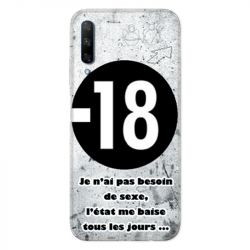 Coque pour Huawei Honor 9X Humour 18 ans