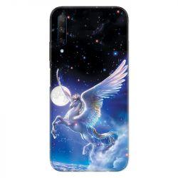 Coque pour Huawei Honor 9X Licorne Céleste