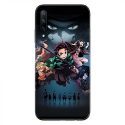 Coque pour Huawei Honor 9X Manga demon Slayer Noir
