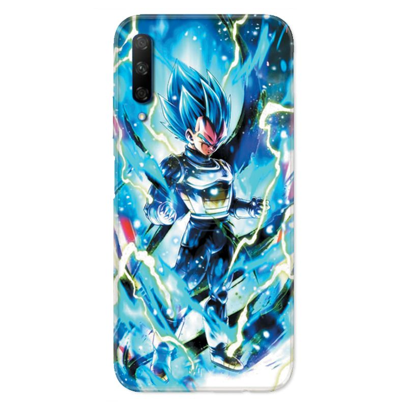 Coque pour Huawei Honor 9X Manga Dragon Ball Vegeta Bleu