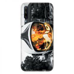 Coque pour Huawei Honor 9X pompier casque feu