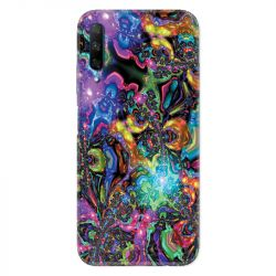 Coque pour Huawei Honor 9X Psychedelic colore