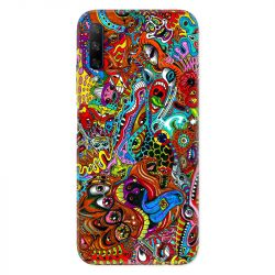Coque pour Huawei Honor 9X Psychedelic Yeux