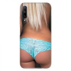 Coque pour Huawei Honor 9X Sexy tanga bleu