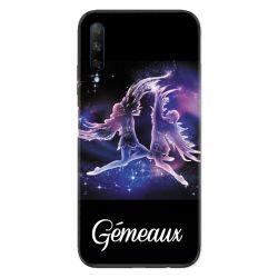 Coque pour Huawei Honor 9X signe zodiaque 2 Gémeaux