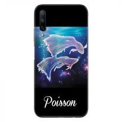 Coque pour Huawei Honor 9X signe zodiaque 2 Poisson