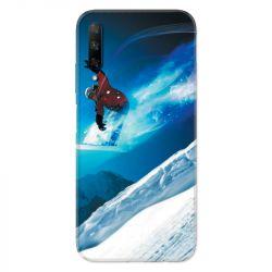 Coque pour Huawei Honor 9X Snowboard saut