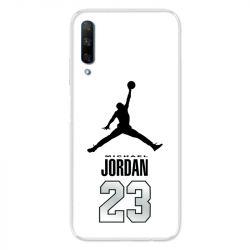 Coque pour Huawei Honor 9X Jordan 23 Blanc
