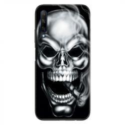 Coque pour Huawei Honor 9X tete de mort Fume