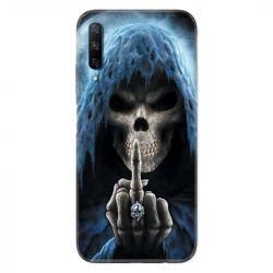 Coque pour Huawei Honor 9X tete de mort Doigt