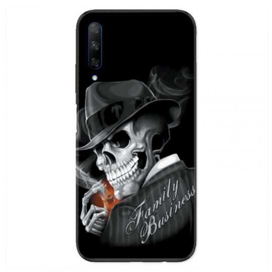 Coque pour Huawei Honor 9X tete de mort family business