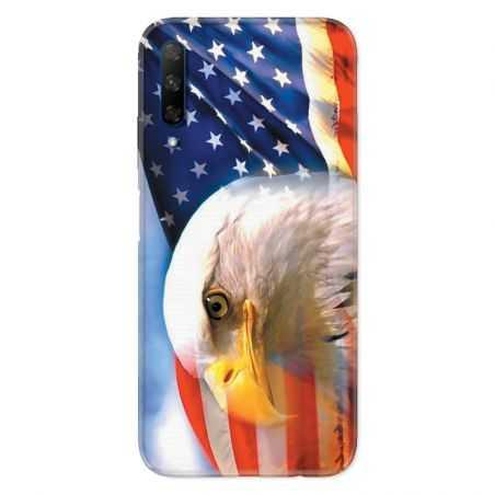 Coque pour Huawei Honor 9X Amerique USA Aigle