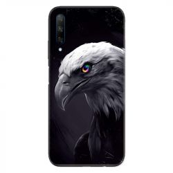 Coque pour Huawei Honor 9X Aigle Royal Noir
