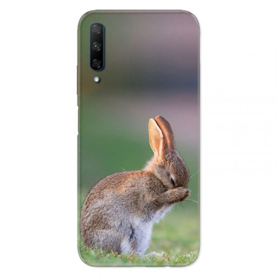 Coque pour Huawei Honor 9X Lapin Marron