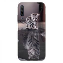 Coque pour Huawei Honor 9X Chat Reflet