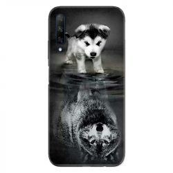 Coque pour Huawei Honor 9X Chien Reflet