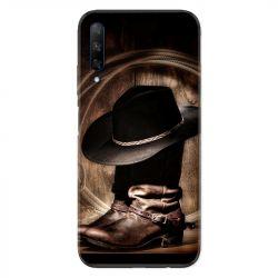 Coque pour Huawei Honor 9X Cow Boy Chapeau