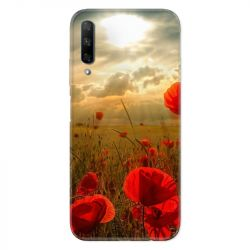 Coque pour Huawei Honor 9X Fleur Coquelicot