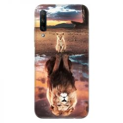 Coque pour Huawei Honor 9X Lion Reflet