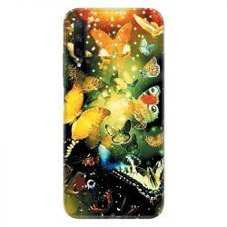 Coque pour Huawei Honor 9X Papillon Jaune