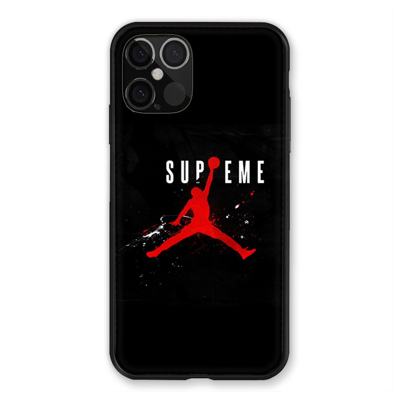 Coque pour Iphone 12 / 12 Pro Jordan Supreme Noir