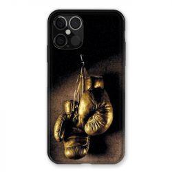 Coque Pour Iphone 12 / 12 Pro Boxe Gant Vintage