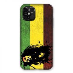 Coque Pour Iphone 12 / 12 Pro Bob Marley Drapeau