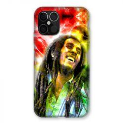 Coque Pour Iphone 12 / 12 Pro Bob Marley Color