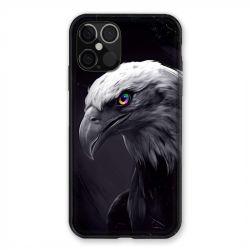 Coque Pour Iphone 12 / 12 Pro Aigle Royal Noir