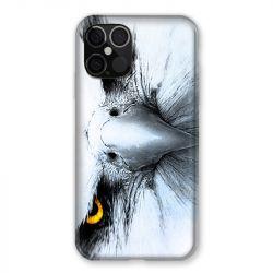Coque Pour Iphone 12 / 12 Pro Aigle Royal Blanc