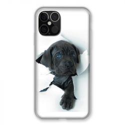 Coque Pour Iphone 12 / 12 Pro Chien Noir