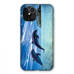 Coque Pour Iphone 12 / 12 Pro Dauphin Ile