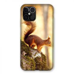 Coque Pour Iphone 12 / 12 Pro Ecureuil Bois