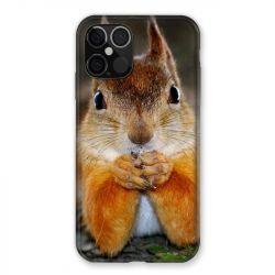 Coque Pour Iphone 12 / 12 Pro Ecureuil Face