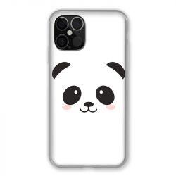 Coque Pour Iphone 12 / 12 Pro Panda Blanc