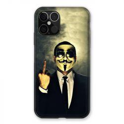Coque Pour Iphone 12 / 12 Pro Anonymous Doigt