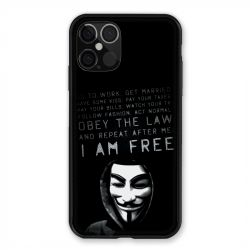 Coque Pour Iphone 12 / 12 Pro Anonymous I am free