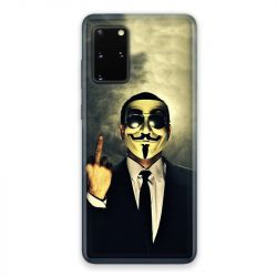 Coque pour Samsung Galaxy S20 Anonymous doigt