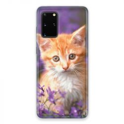 Coque pour Samsung Galaxy S20 Chat Violet