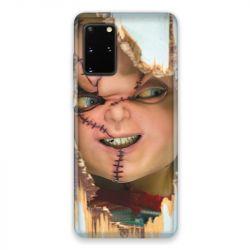 Coque pour Samsung Galaxy S20 Chucky Blanc