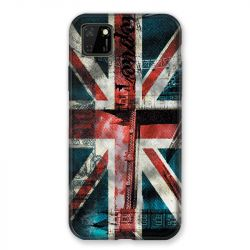 Coque pour Huawei Y5P Angleterre UK Jean's