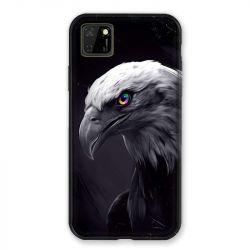 Coque pour Huawei Y5P Aigle Royal Noir