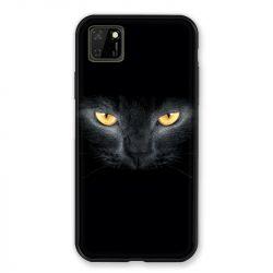 Coque pour Huawei Y5P Chat Noir