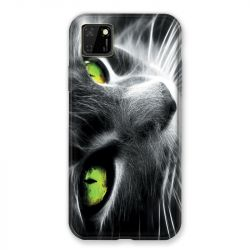 Coque pour Huawei Y5P Chat Vert