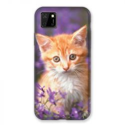 Coque pour Huawei Y5P Chat Violet