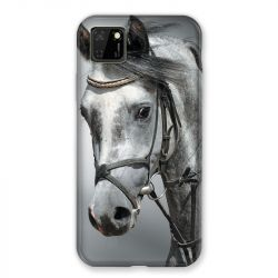 Coque pour Huawei Y5P Cheval Blanc
